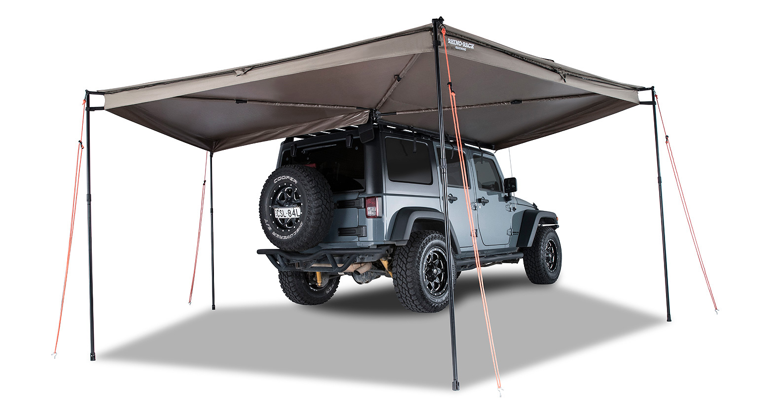 Awning Parts And Supplies : Batwing awning rhs rhino rack