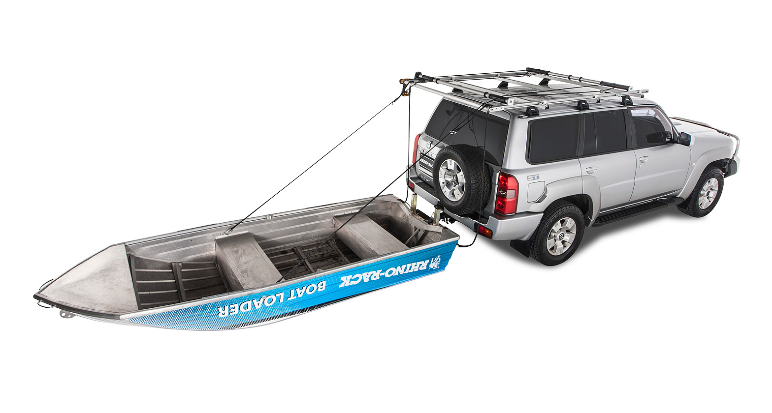 Toyota Prado Boat Loader Roof Rack Rear Boat Loader Rblw